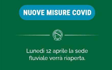 Coronavirus: nuove misure di contenimento