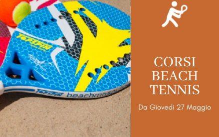 CORSI DI BEACH TENNIS